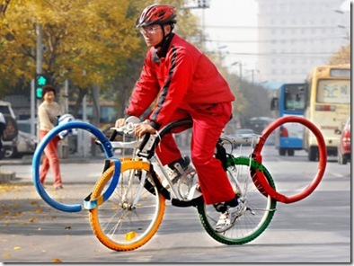 Olympic_ringshaped_bicycle2